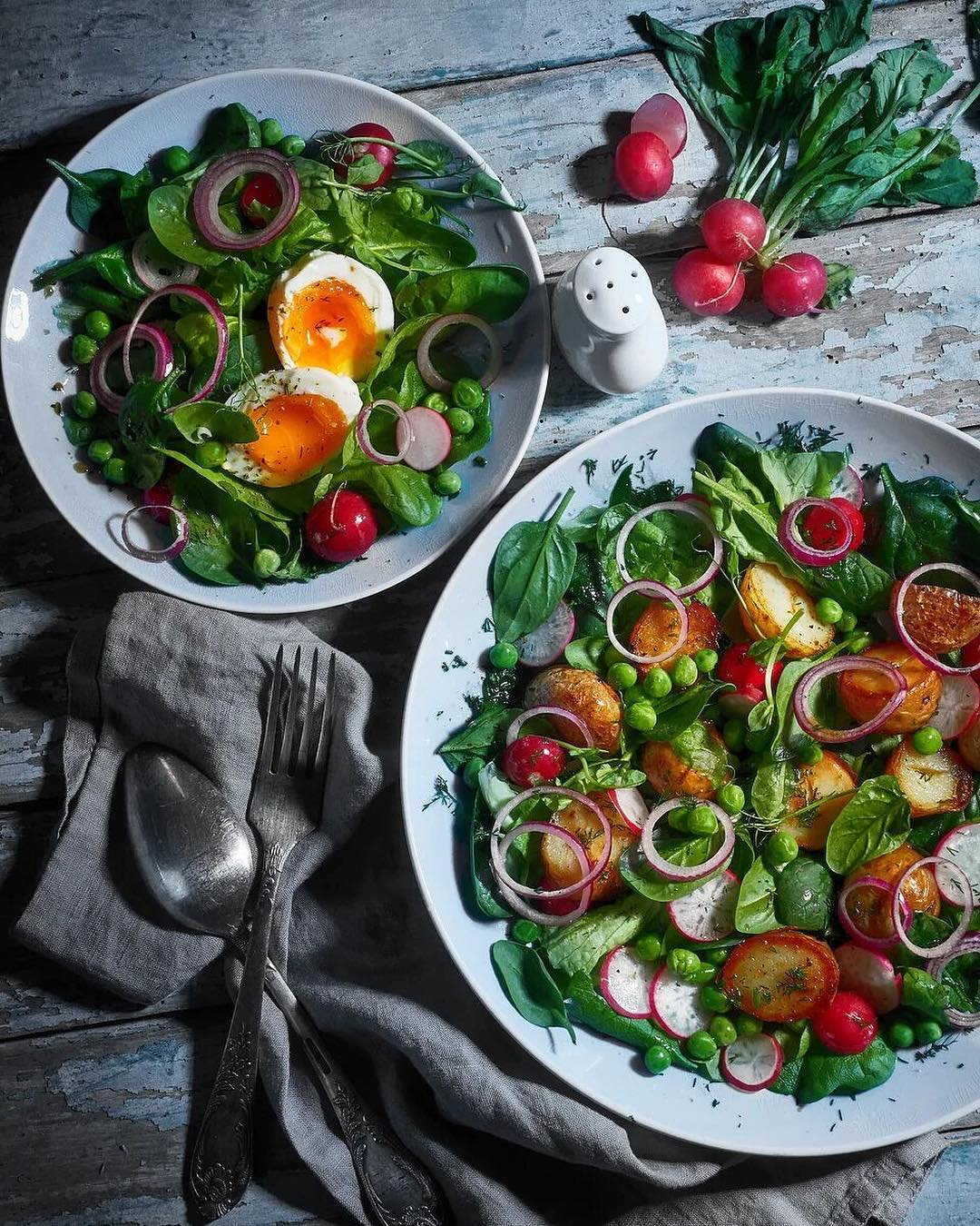 Весенние салаты